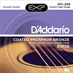 Justin Recommends: (ACOUSTIC) D'Addario EXP26 Acoustic Guitar Strings 11-52